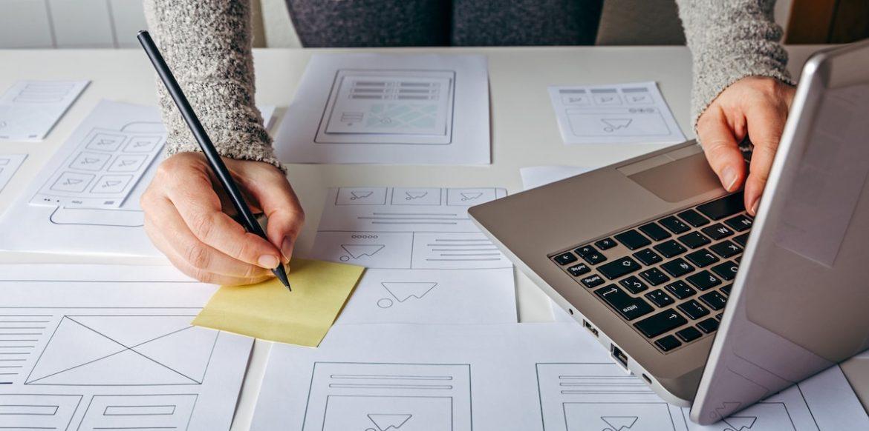 Logo-Erstellungsprozess
